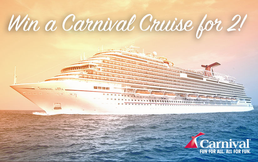 Win It! A Trip for 2 Aboard a Carnival Cruise Featuring Delicious Eats from Guy Fieri!