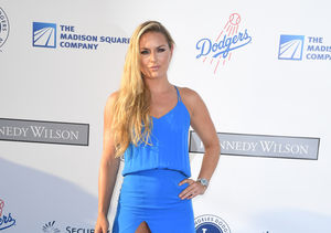 Lindsey Vonn Suffers Wardrobe Malfunction at Dodgers Gala