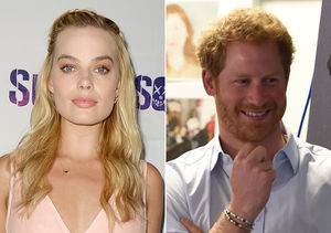 Margot Robbie on Her Fun Text Messages with Prince Harry