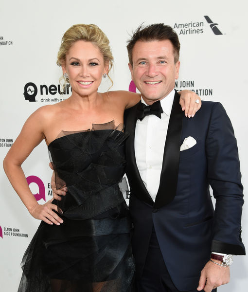 Kym Johnson and Robert Herjavec are expecting