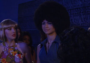 Zendaya's '70s Style Is All the Rage in 'K.C. Undercover' Sneak Peek