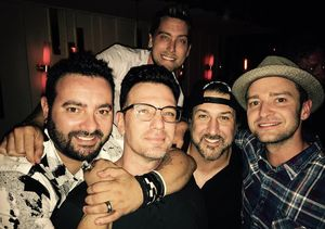 Justin Timberlake & *NSYNC Reunite for JC Chasez's Birthday