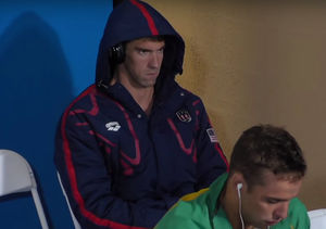 Michael Phelps' Intimidating Game Face Breaks the Internet — See the…
