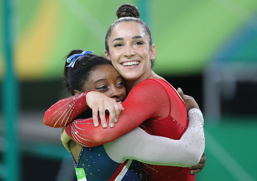 Olympic Gymnasts Simone Biles and Aly Raisman Win Gold and Silver!