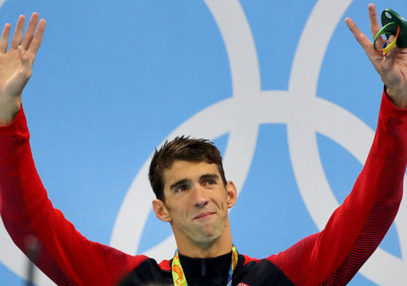 Gold Parachute: Michael Phelps Retires After Breaking Amazing Record