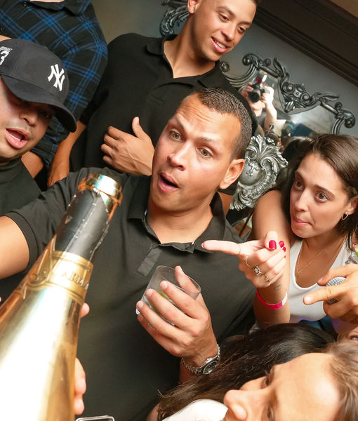 Sipping $500K Champagne: Inside A-Rod's Retirement Party