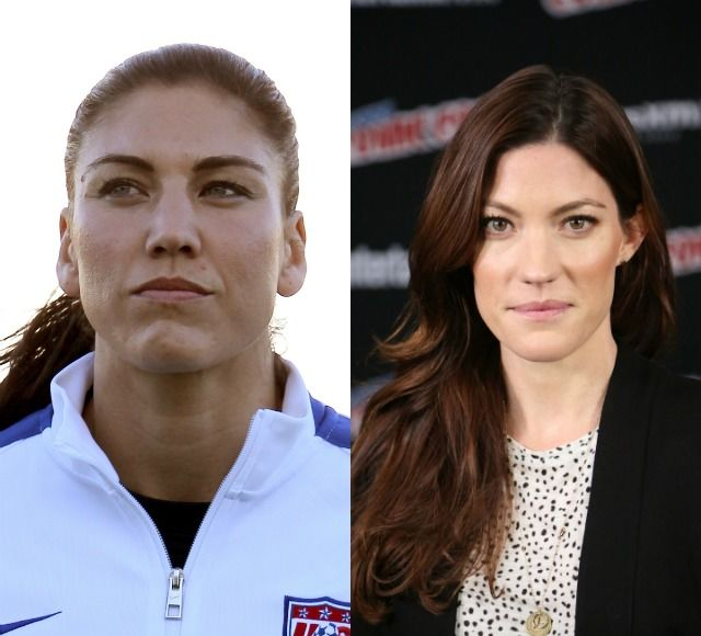 2 HOPE SOLO JENNIFER CARPENTER