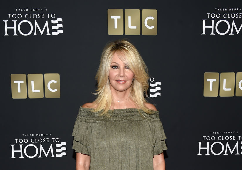 U.S. star Heather Locklear rushed to hospital after crashing Porsche