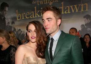 Did Kristen Stewart Just Compare Dating Robert Pattinson to Eating…
