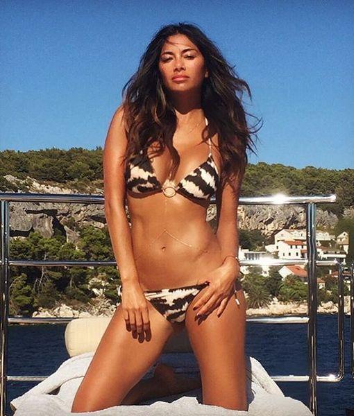 Nicole Scherzinger's Sexy, Skintastic Croatian Vacation