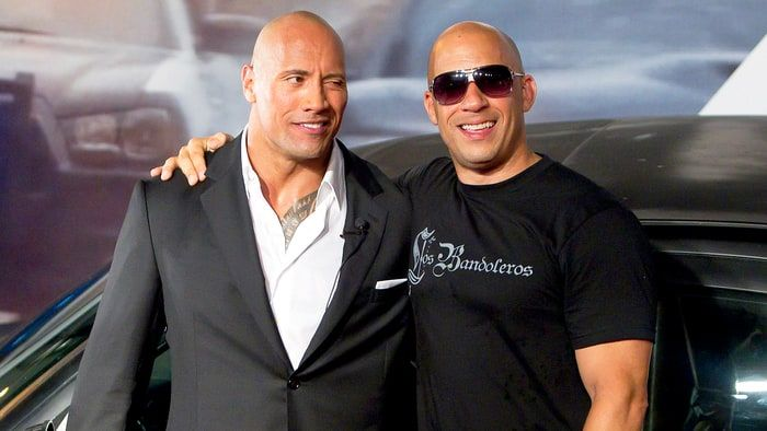 'Fast & Furious' Feud Revs Up: The Rock Snubs Vin Diesel