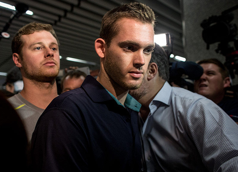 Gunnar Bentz Issues Statement on Rio Scandal, Points Finger at Ryan Lochte