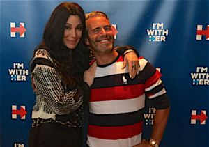 Cher Raises Cash for Hillary, Calls Trump 'the Worst Person I've Ever Seen'