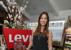 Jessica Biel and Levi's Host Back-to-School Event at Au Fudge
