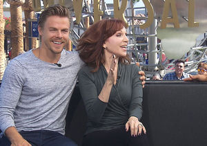 'DWTS': Derek Hough & Marilu Henner Talk Season 23, Ryan Lochte, and More!