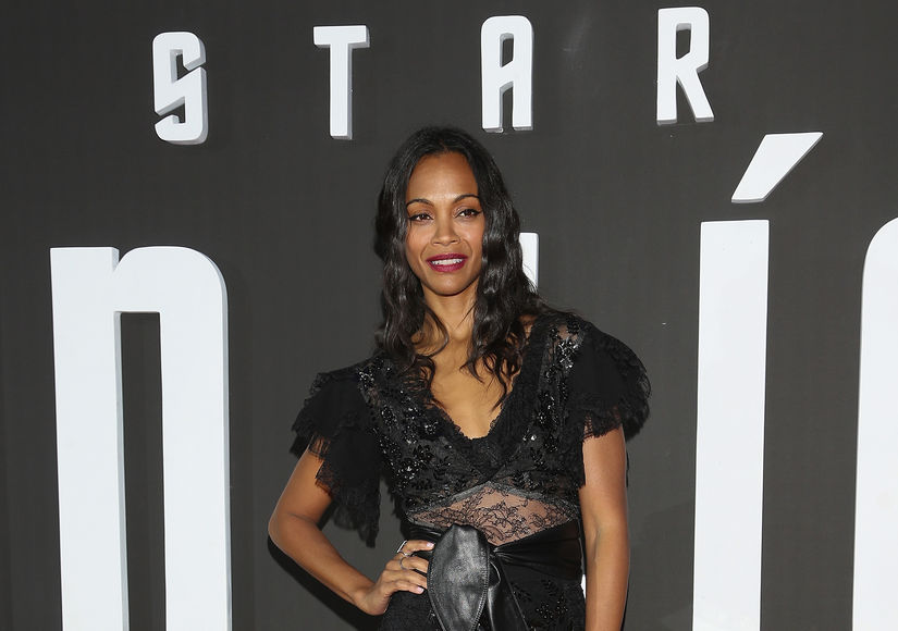 Zoe Saldana Dishes on Life with Her Twin Boys