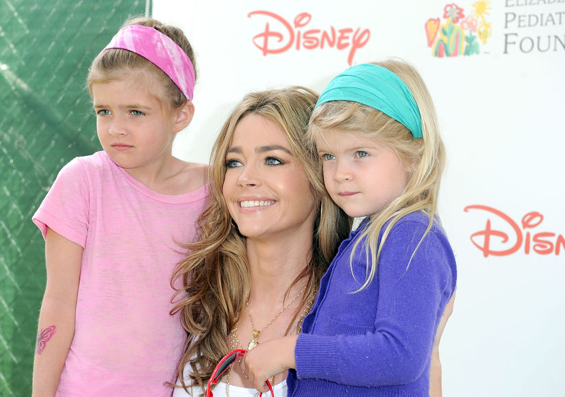 denise-richards-daughters-2010