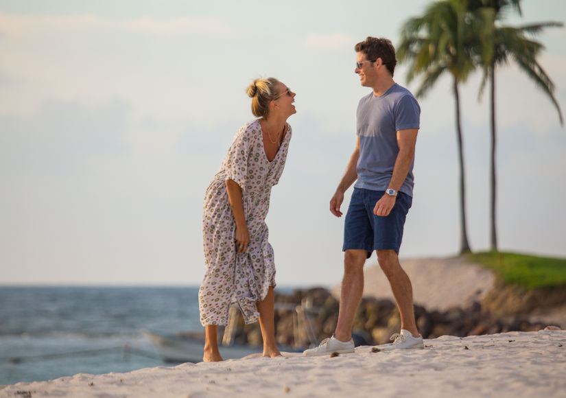 James Marsden & Edei's Romantic Getaway in Mexico