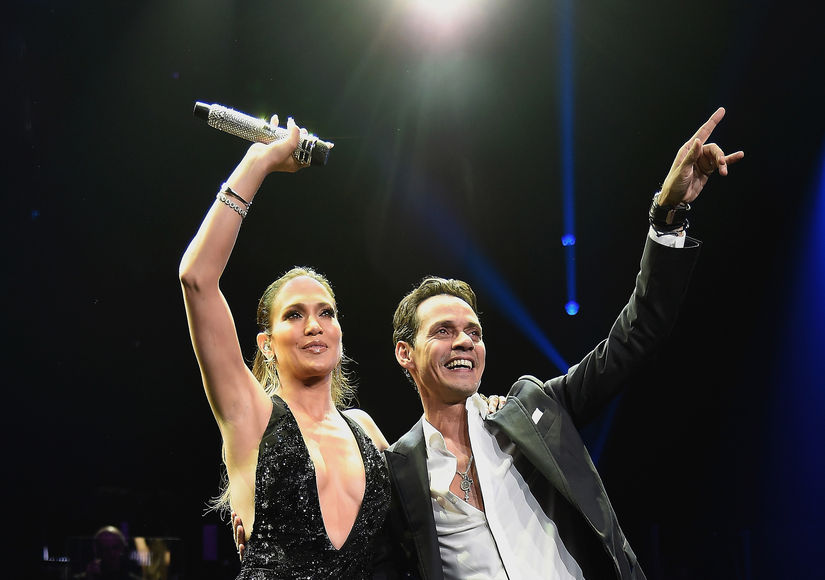 How Jennifer Lopez & Marc Anthony's Twins Reacted to Their Parents' Stage Reunion