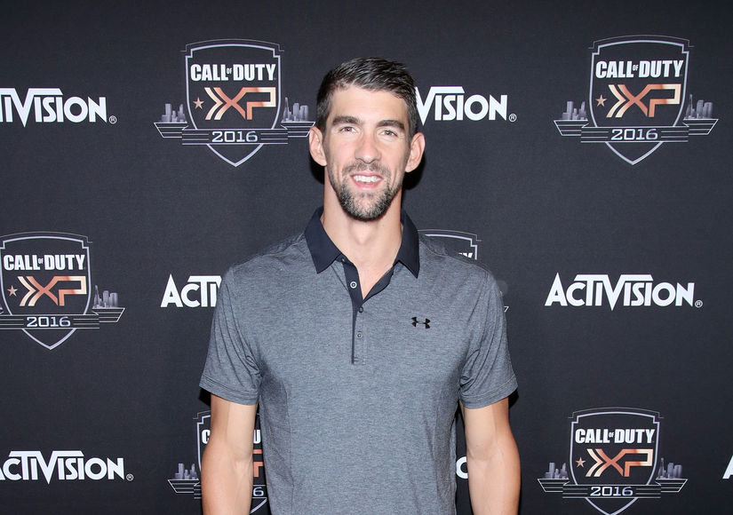 Michael Phelps Dishes on Diaper Duty, and If He Would Ever Do 'Dancing with the Stars'