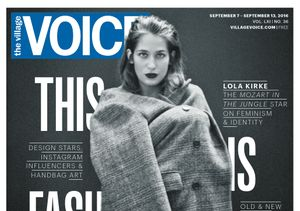 Queen of the 'Jungle' Lola Kirke Graces Cover of Village Voice Fashion Issue