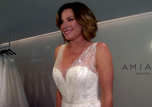 'RHONY' Star Luann de Lesseps Takes 'Extra' Wedding Dress Shopping