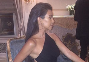 Kourtney Kardashian Has a Leg Up on All the Other Hot Moms!