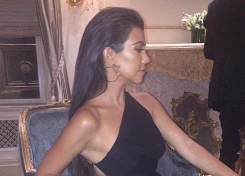 Kourtney Kardashian Has a Leg Up on All the Other Hot Moms!