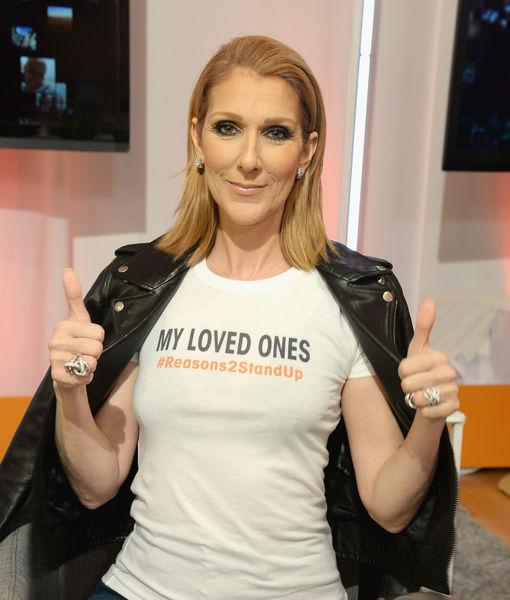 Céline Dion Debuts Powerful Song as Hollywood Comes Together for Stand Up to Cancer 2016