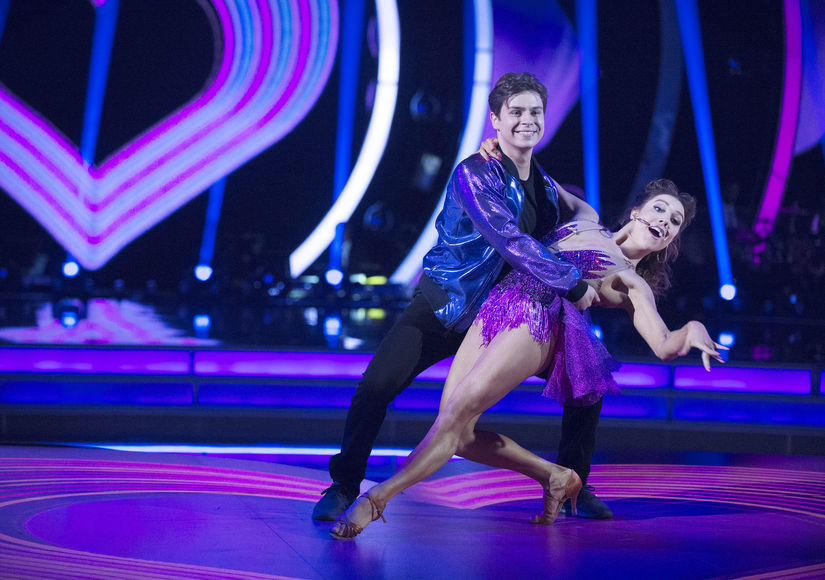 Jake T. Austin's 'DWTS' Blog: His 'Surreal' First Night