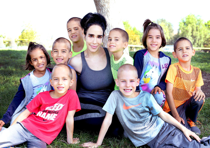 Octomom Reinvents Herself! Fresh Family Pic, Plus: All About Her New Life and Career