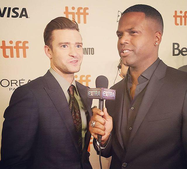 Watch Justin Timberlake Coaching AJ Calloway at TIFF