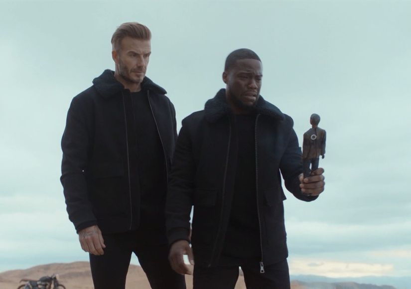 David Beckham & Kevin Hart Reunite for New H&M Campaign
