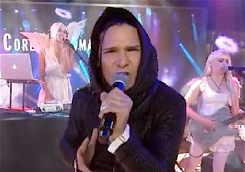 Corey Feldman Breaks Down Over Negative Response to 'Today' Performance