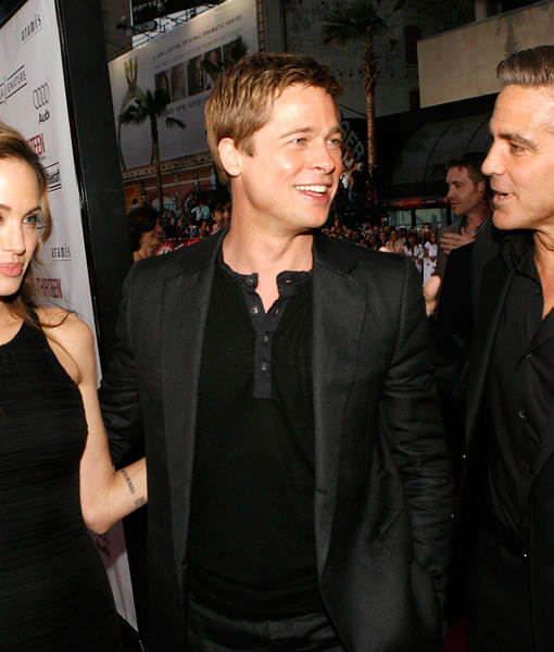 How George Clooney Learned Brangelina Was Over