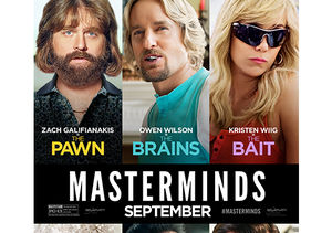 Win It! A Prize Pack from 'Masterminds' and a $25 Fandango Gift Card