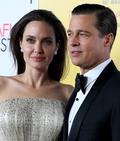 Brad Pitt May See His Kids This Week, Plus: Angelina 'in Agony'