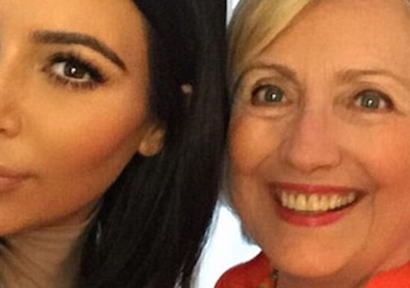 Swing Voter Kim Kardashian Swings Back to Hillary Clinton