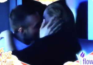 See Amy Schumer's Outrageous Kiss Cam Video