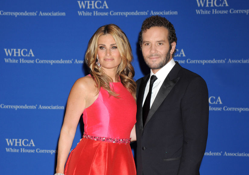 Idina Menzel married her Rent co-star Aaron Lohr at the weekend