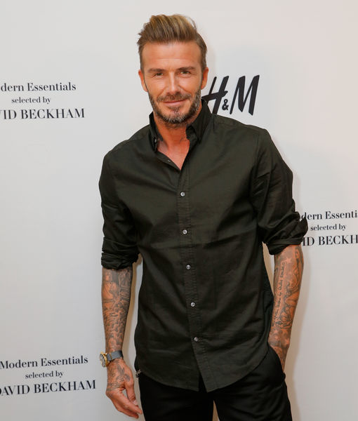 David Beckham Is Unrecognizable in New Movie Role