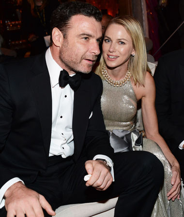 Liev Schreiber & Naomi Watts in Happier Times