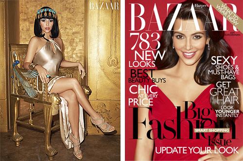 kardashian cleopatra harpers bazaar
