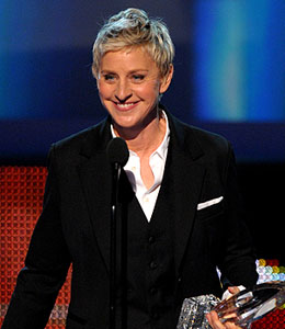 Ellen DeGeneres wins 11th People's Choice Award