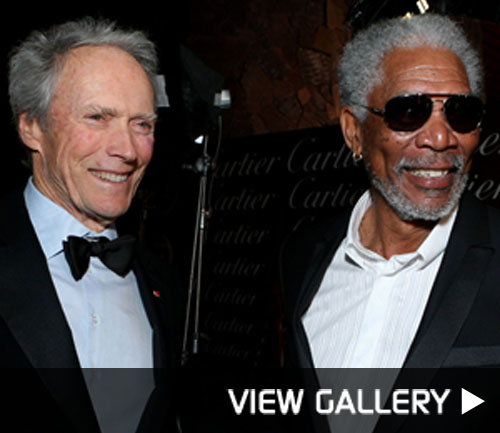 Morgan Freemand and Clint Eastwood