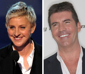 Ellen DeGeneres: 'very sad' to see Simon leave 'Idol'