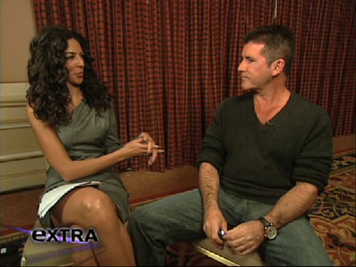 Simon Cowell addresses rumors of Paula Abdul on 'X Factor'