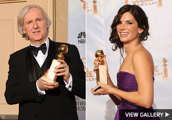 golden globe james cameron sandra bullock