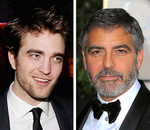 robert pattinson george clooney