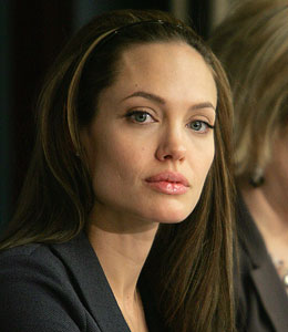 Angelina Jolie is asking the public to reach out to the orphans of Haiti.